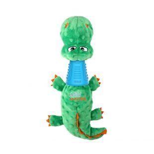 GIGWI Šunų žaislas Krokodilas dispenseris, mėlynas