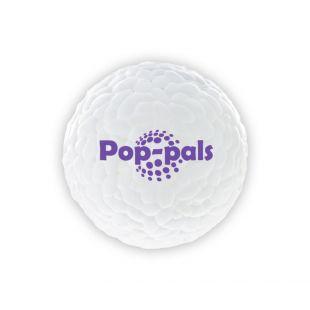 GIGWI Šunų žaislas kamuoliukas guminis, baltas