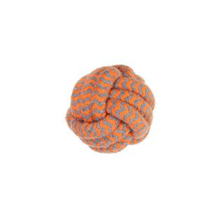 MISOKO&CO Šunų žaislas kamuoliukas, oranžinis