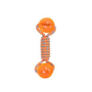 MISOKO&CO Šunų žaislas kaulas , oranžinis