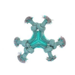 MISOKO&CO Šunų žaislas kramtukas su mazgais, žydras