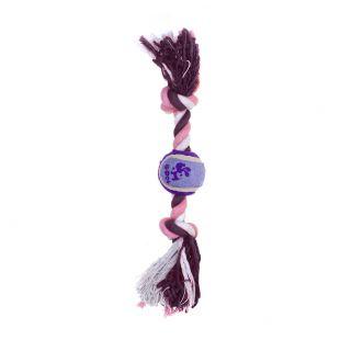 MISOKO&CO Šunų žaislas su teniso kamuoliuku, violetinis