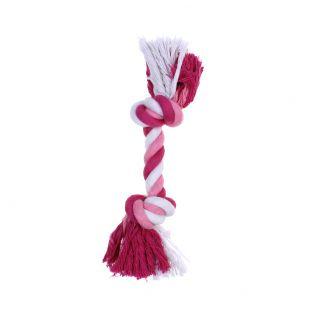 MISOKO&CO Šunų žaislas susukta virvė, rožinis
