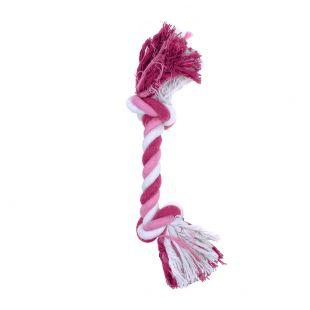 MISOKO&CO Šunų žaislas ilga virvė, rožinis