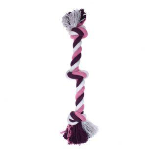 MISOKO&CO Šunų žaislas ilga virvė su mazgu, violetinis