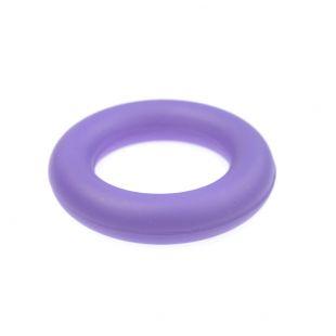 MISOKO&CO Šunų žaislas guminis žiedas, violetinis