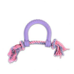 MISOKO&CO Šunų žaislas pasaga, violetinis