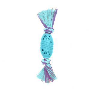 MISOKO&CO Šunų žaislas regbio kamuolys, žydras