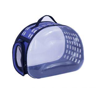 PAW COUTURE Gyvūnų pernešimo krepšys, 29x45x32 cm,  mėlynas