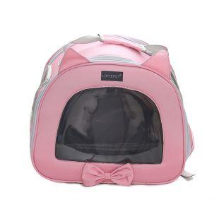 PAW COUTURE Gyvūnų pernešimo krepšys, 36x20x30 cm,  rožinis