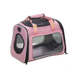 PAW COUTURE Gyvūnų pernešimo krepšys, 42x26x30 cm,  rožinis