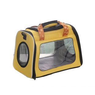 PAW COUTURE Gyvūnų pernešimo krepšys, 42x26x30 cm,  geltonas
