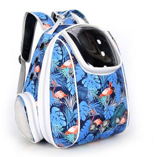 PAW COUTURE Gyvūnų pernešimo krepšys, 33x23x40 cm,  mėlynas