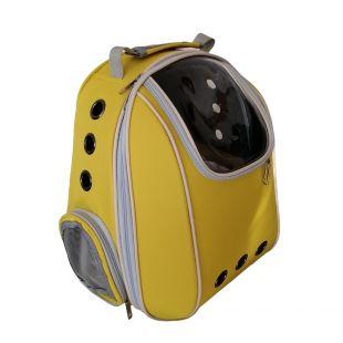 PAW COUTURE Gyvūnų pernešimo krepšys, 33x23x40 cm,  geltonas