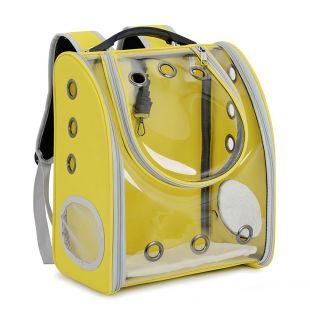 PAW COUTURE Gyvūnų pernešimo krepšys, 33x21x39 cm,  geltonas