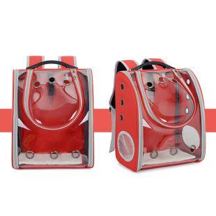 PAW COUTURE Gyvūnų pernešimo krepšys, 33x21x39 cm,  raudonas