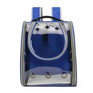 PAW COUTURE Gyvūnų pernešimo krepšys, 33x21x39 cm,  mėlynas
