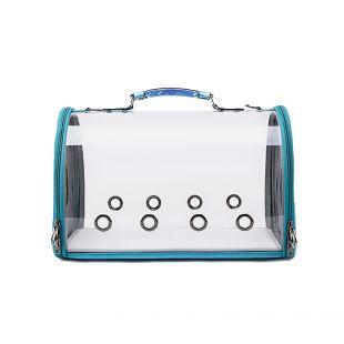 PAW COUTURE Gyvūnų pernešimo krepšys, 43x24.5x28 cm,  mėlynas