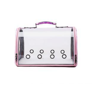 PAW COUTURE Gyvūnų pernešimo krepšys, 43x24.5x28 cm,  rožinis