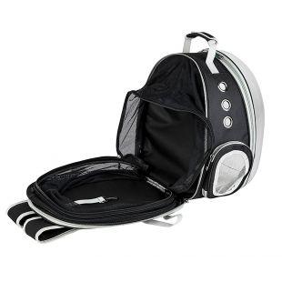 PAW COUTURE Gyvūnų pernešimo krepšys, 38x30x40 cm,  juodas