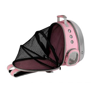 PAW COUTURE Gyvūnų pernešimo krepšys, 38x30x40 cm,  rožinis