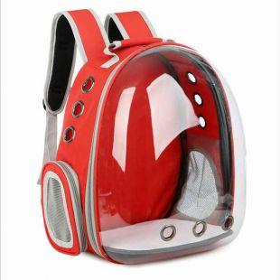 PAW COUTURE Gyvūnų pernešimo krepšys, 38x30x40 cm,  raudonas