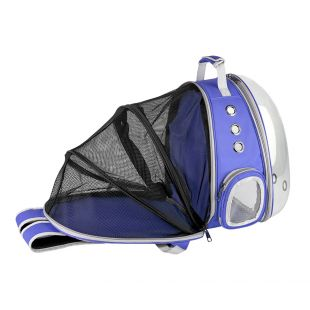 PAW COUTURE Gyvūnų pernešimo krepšys, 38x30x40 cm,  mėlynas