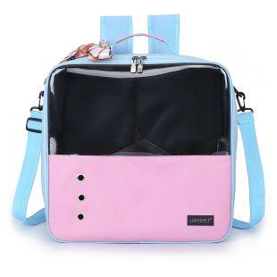 PAW COUTURE Gyvūnų pernešimo krepšys, 36x18x35 cm,  rožinis