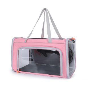 PAW COUTURE Gyvūnų pernešimo krepšys, 47x27x27 cm,  rožinis