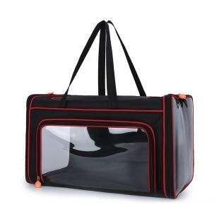 PAW COUTURE Gyvūnų pernešimo krepšys, 47x27x27 cm,  juodas