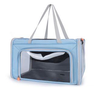 PAW COUTURE Gyvūnų pernešimo krepšys, 47x27x27 cm,  mėlynas