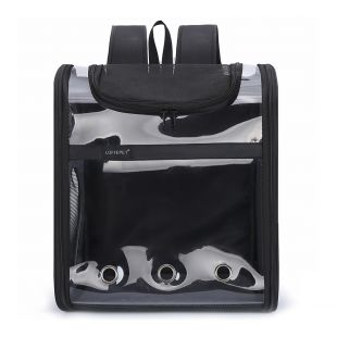 PAW COUTURE Gyvūnų pernešimo krepšys, 38x23x44 cm,  juodas