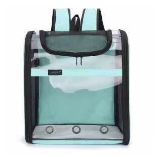 PAW COUTURE Gyvūnų pernešimo krepšys, 38x23x44 cm,  mėlynas