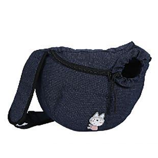 PAW COUTURE Gyvūnų pernešimo krepšys, 36x18x23 cm,  juodas
