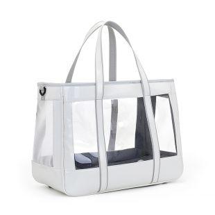 PAW COUTURE Gyvūnų pernešimo krepšys, 39x21x31 cm,  baltas
