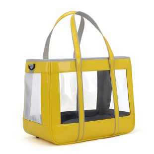 PAW COUTURE Gyvūnų pernešimo krepšys, 39x21x31 cm,  geltonas