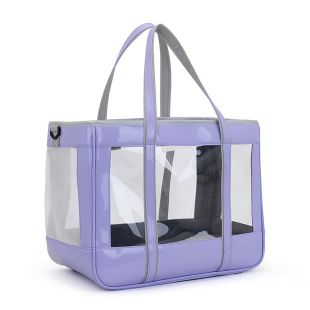 PAW COUTURE Gyvūnų pernešimo krepšys, 39x21x31 cm,  violetinis
