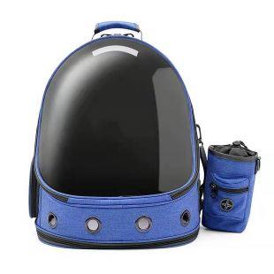 PAW COUTURE Gyvūnų pernešimo krepšys, 37x28x41 cm,  mėlynas