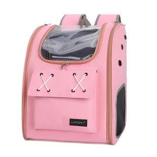 PAW COUTURE Gyvūnų pernešimo krepšys, 32x26x40 cm,  rožinis