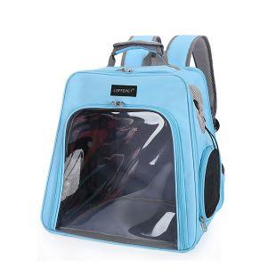 PAW COUTURE Gyvūnų pernešimo krepšys, 24x32x27 cm,  mėlynas