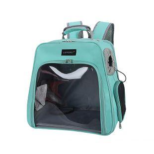 PAW COUTURE Gyvūnų pernešimo krepšys, 24x32x27 cm,  šviesiai žalias