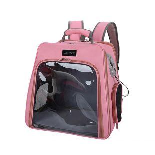 PAW COUTURE Gyvūnų pernešimo krepšys, 24x32x27 cm,  rožinis