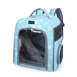 PAW COUTURE Gyvūnų pernešimo krepšys, 32x23x40 cm,  mėlynas