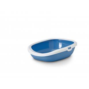 SAVIC Gizmo tualetas su rėmu, 44x35.5x12.5cm, mėlynas