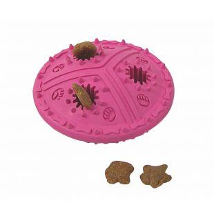 MISOKO&CO Šunų žaislas guminis, raudonas, 11.5 cm