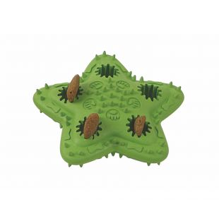 MISOKO&CO Šunų žaislas guminis, žalias, 12x12 cm