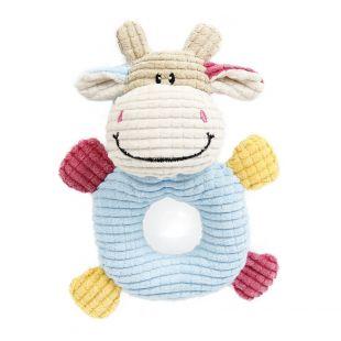 HIPPIE PET Šunų žaislas, Karvė 14x19 cm