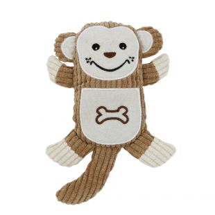 HIPPIE PET Šunų žaislas, Beždžionė 14x21 cm