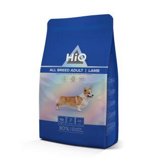 HIQ All Breed Adult Lamb, pašaras su ėriena suaugusiems visų veislių šunims 2.8 kg