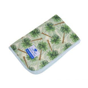 HIPPIE PET Daugkartinio naudojimo pala 80x90 cm žalios palmės (dydis L)
